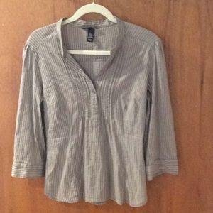 H&M 3/4 length blouse